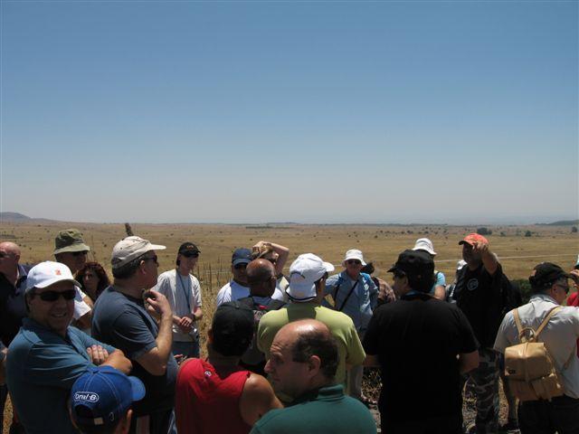 טיול רמת הגולן-יוני 2006
