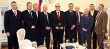 משלחת העמותה בביקור רשמי ברפובליקה סרבסקה